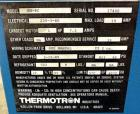 Used- Thermotron  Circulating Temperature Oven, Model SM-8C. 304 Stainless steel interior approximate 24