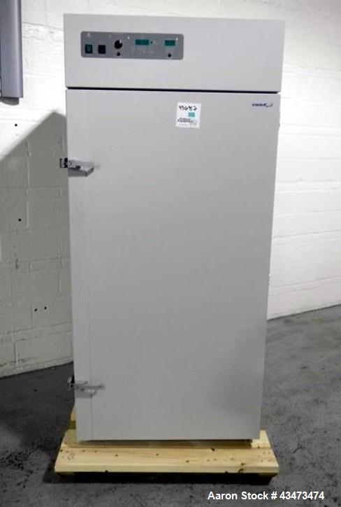 "Used-VWR oven, model 1390FM, interior chamber measures 60"" high x 30"" wide x 24"" deep, serial# 0200604"