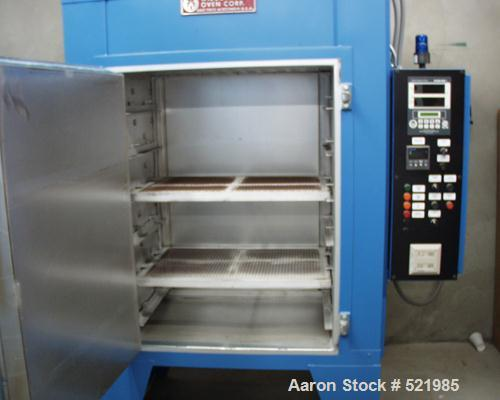 "USED: Wisconsin oven, model SB324. Internal dimensions: 36"" wide x 24"" long x 48"" high. Outside dimensions: 74"" wide x 42"" l..."