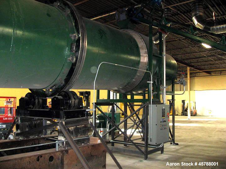 Unused - Rotary Drum Dryer System. Features: #2 6.6' diameter x 56' long. Heavy carbon steel duty drum construction (2 piece...