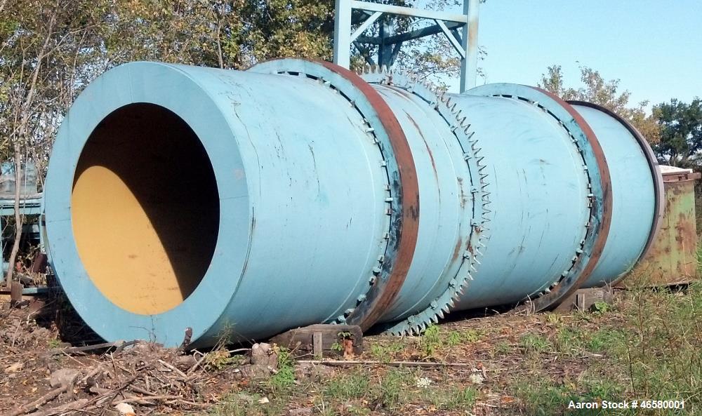 "Unused- FEECO Rotary Dryer, 96"" diameter (I.D.) x 30 long"