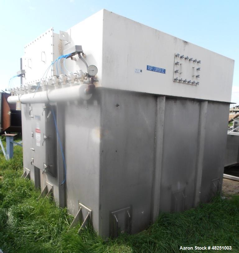 Used- FMC Link-Belt Roto-Shell Dryer, Stainless Steel.