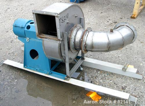 """USED: Griffin and Co Conditioning Cylinder, 304 stainless steel. 48"""" diameter x 16' long tube with internal pins. Feed chute..."""