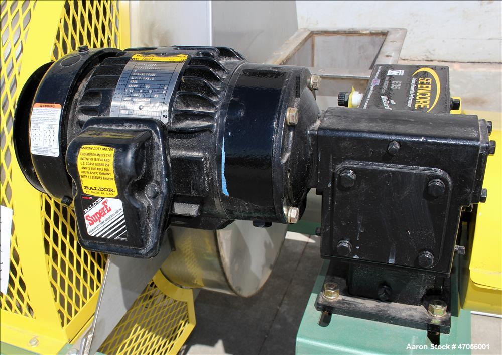 Unused- Insta-Pro Rotary Drum Cooler, Model 900, 4,000 Pounds Capacity