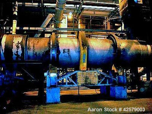 "Used- Didion Rotary Dryer, Model RD72-30, 72"" diameter x 30' long.   with North American Zephyr Burner, s/n 952230277,  Natu..."