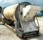 USED: Rotary air dryer, 304 stainless steel. Horizontal insulated tube 60