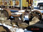 USED: (1) Set of trunnions for an approx 12' diameter x 45' longrotary dryer. Trunnion rolls 30