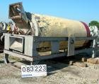 Used- Rotary Air Dryer, 304 Stainless Steel. Horizontal insulated tube 60