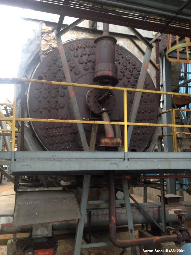 "Used- Stearns-Roger Steam Tube Dryer. 9' 6"" diameter x 65' long. Carbon steel construction. (132) Tubes, 4"" O.D. x 10 GA (.1..."