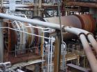 USED: Davenport rotary steam tube dryer, 9'6