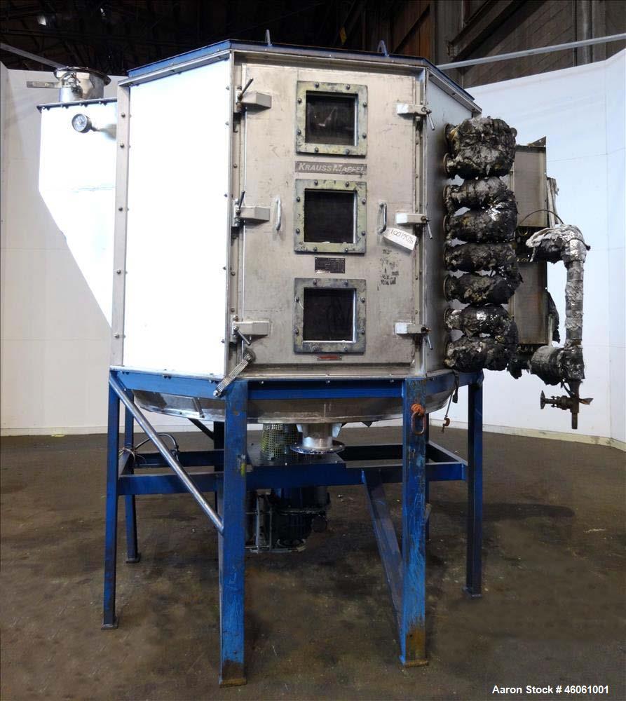 Used- Krauss Maffei Tray Dryer, Type TT 20708