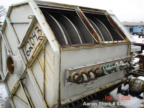 Used- Krauss Maffei Atmospheric Tray Dryer, Model TTB20/11