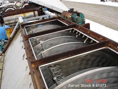 USED: Krause Maffei model TTB20/16 tray dryer. Stainless steel trays, agitator arms and internal hsg (similar to Wyssmont). ...