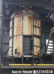 "Used- Wyssmont Turbo Tray Dryer, Model N-28. 316 S/S, (28) - 78"" diameter trays. Includes steam coils and blower. Requires g..."