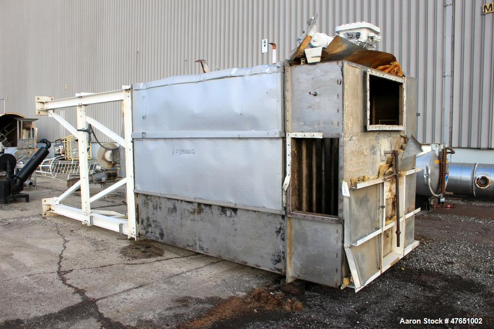 Used- Wyssmont Model Turbo-Dryer Model N-25-28