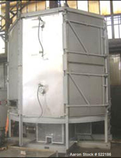 USED: Wyssmont turbo dryer, model OE19/20, stainless steel construction. (19) total trays with (16) heated, (3) cooled, 8'di...