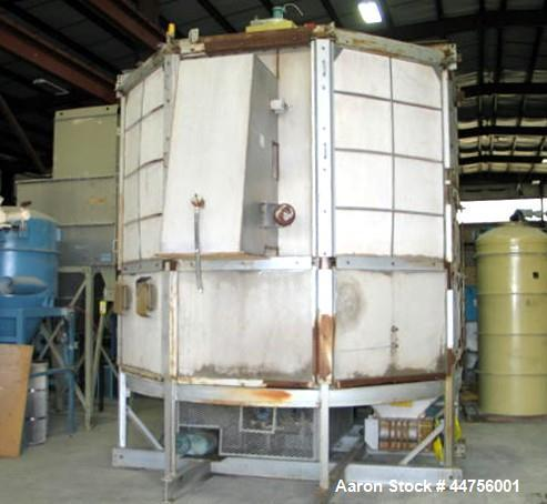 Used- Stainless Steel Wyssmont Turbo Dryer- Cooler, Model OE-20