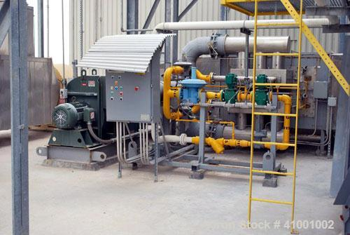 Used-Wyssmont Turbo-Dryer, Type V-37. 25' diameter, 304 stainless steel construction. Includes Eclipse boiler and bag house,...