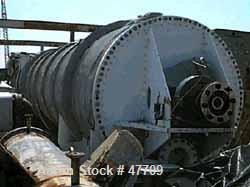 """Used- Bepex Continuous Solidaire Dryer, Model SJS-88-50, 304 Stainless Steel. 88"""" diameter x 50' long. Internal rated 30 psi..."""