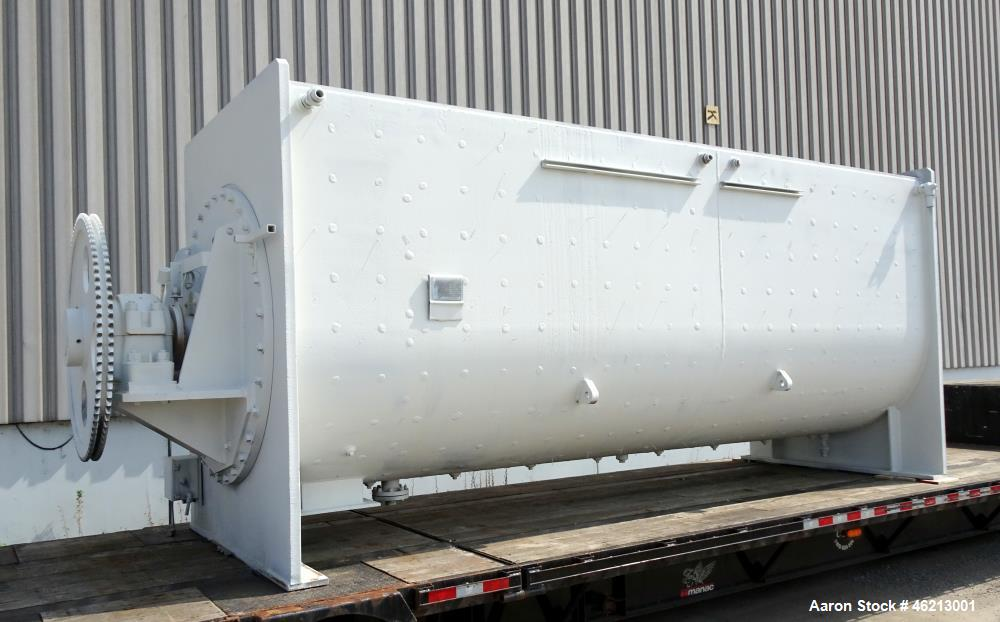 Used- Bethlehem Corporation Vacuum Dryer/Mixer, Approximately 500 Cubic Feet, 30