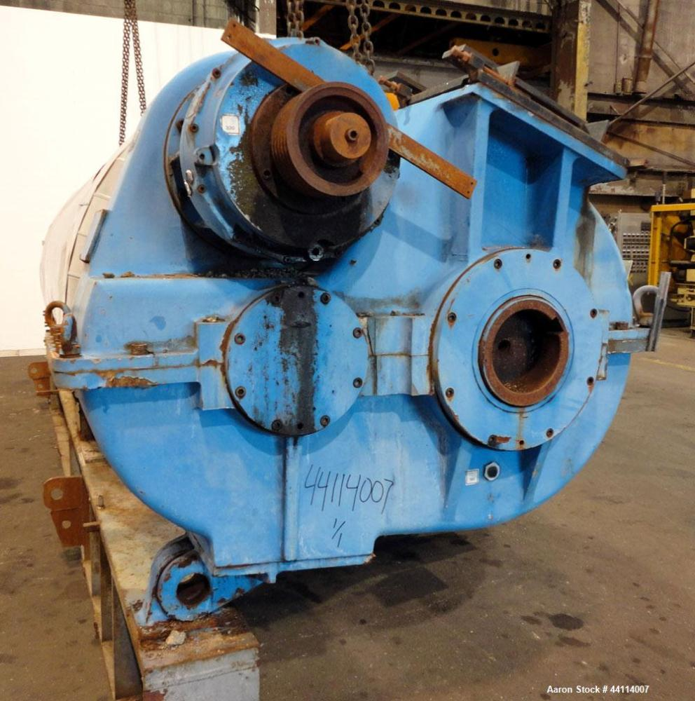 Used- Buss Rotary Dryer, Approximate 202 Cubic Feet Working Capacity, Type S1000