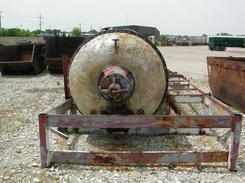 Used- Buss Rotary Vacuum Dryer, 85 Cubic Feet Working Capacity, 316 Stainless St