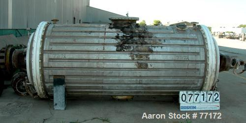 Used- CMR Rotary Vacuum Dryer, 101 Cubic Foot Working Capacity, 316 Stainless St