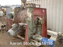USED: Drais rotary vacuum dryer, type HT1000. Stainless steelconstruction on product contact parts. Working capacity 35.35 c...