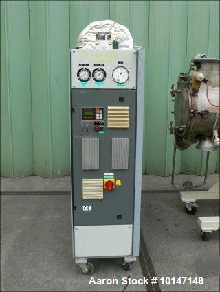 Used-Draiswerke Turbulent Dryer, Model T-50 FM-1. Built 1991, Stainless steel (1.4541) on product contact parts. Capacity 1....
