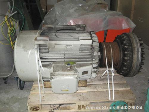 Used-Drais GmbH Rotary Vacuum Dryer, type T5000. Material of construction is stainless steel. Capacity 176.55 cubic feet (50...