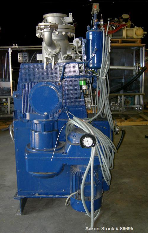 Used- Stainless Steel Draiswerke Turbulent Plow Mixer/Reactor, Type TR-100/ZSM