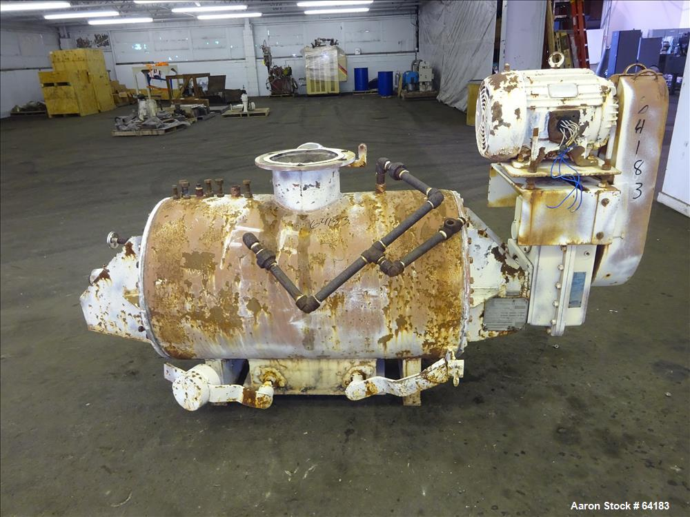 Used- Stainless Steel Goslin-Birmingham Rotary Vacuum Dryer