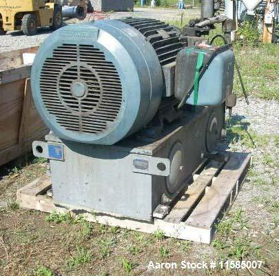 Used-Littleford Batch Vacuum Mixer/Dryer,  Model VT-3000-D(4Z)