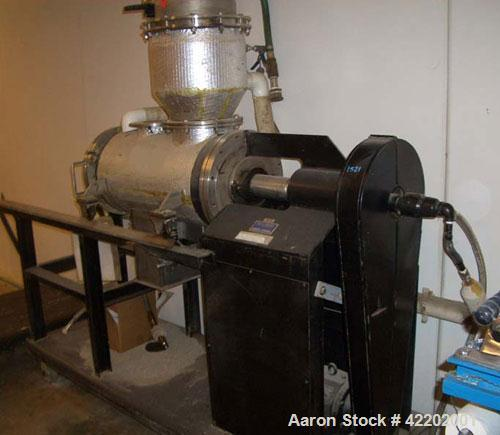 Used-Paul O Abbe Vacuum Dryer, model RD, PI Production, Rotablade Dryer - MF540. 1.1 Cubic foot working capacity (1.9 total)...