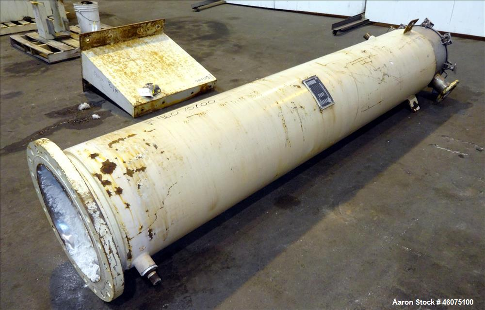 Used- Processall Rotary Vacuum Dryer Plow Mixer, Model 1200, 304 Stainless Steel. Approximate 1200 liter capacity (42 cubic ...