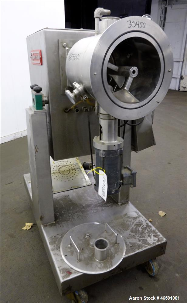 Used- Processall Tilt-A-Mix Lab Size Rotary Vacuum Dryer