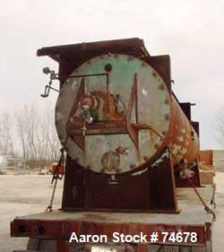 Used- Stainless Steel Stokes Rotary Vacuum Dryer, Model 59-250