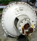Used- Buss Rotary Vacuum Dryer, Model SF-4000, 82 Cubic Feet Working Capacity, 3