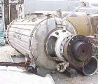 Used- Buss Rotary Vacuum Dryer, 58 Cubic Feet Working Capacity (1,653 Liters), 3