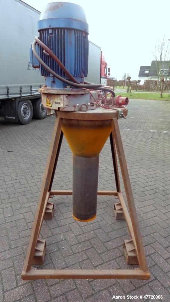 Used- APV Anhydro Wheel Atomizer, Type CE 250.