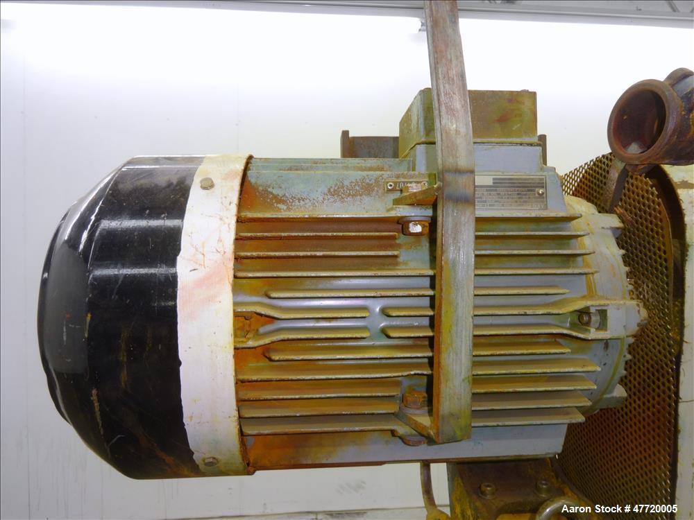 Used- Niro Wheel Type Atomizer, Model F15 BV00-00S-S.