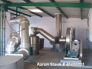 Used- Saka Engineering Spray Dryer. 200 kg/hr water evaporation. GMP construction. 316 stainless steel contact parts. 304 St...