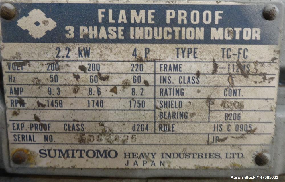 Used- GEA Niro Spray Dryer, Model P-6.3, 304 Stainless Steel.