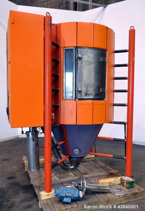 Used- Stainless Steel Anhydro Gas Heated Only Compact Spray Dryer