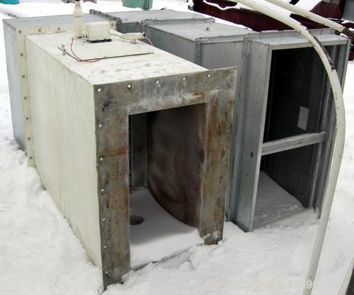 Used- Anhydro Gas Heated Spray Dryer, Size Number 5/6, Type III-AK, 304 Stainless Steel. Approximate 9' diameter x 13' strai...