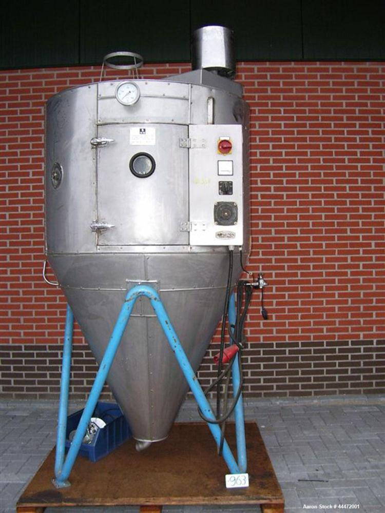 Used-Anhydro Type LAB 1 No 65/34 Spray Dryer, 50 Hz.