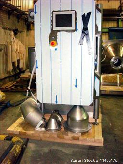Used-Anhydro MicraSpray Model MS 400 Spray Dryer System, Stainless Steel. Max, inlet temperature: 325 DEG. C (617 DEF F), Ma...