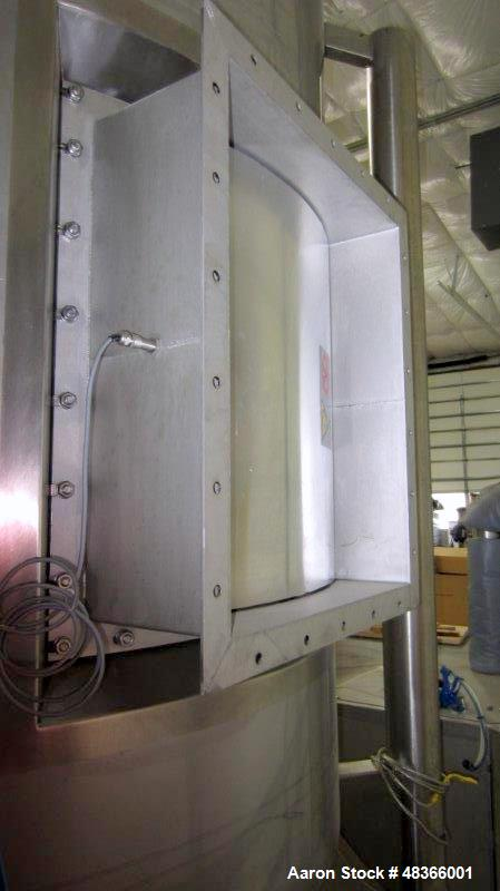 Used- Anhydro MicraSpray, Model MS 400 Spray Dryer System, Stainless Steel. Max, inlet temperature: 325 deg. C (617 DEF F), ...