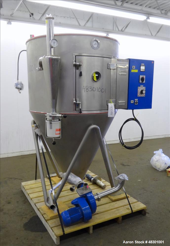 Used- APV Anhydro Electrically Heated Lab Spray Dryer, Model Lab S1, Stainless S