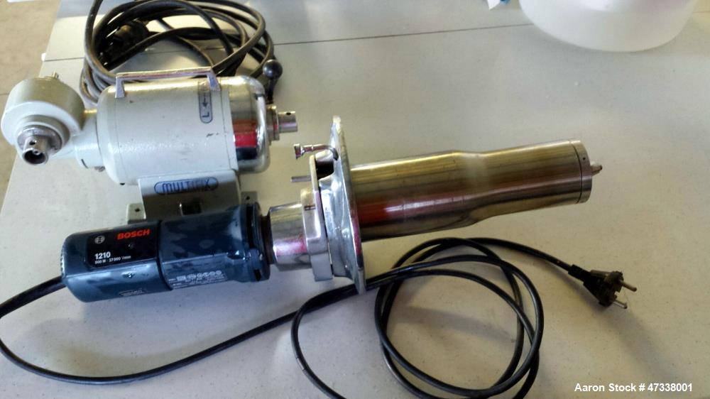 Used- Anhydro Type Lab S1 Spray Dryer